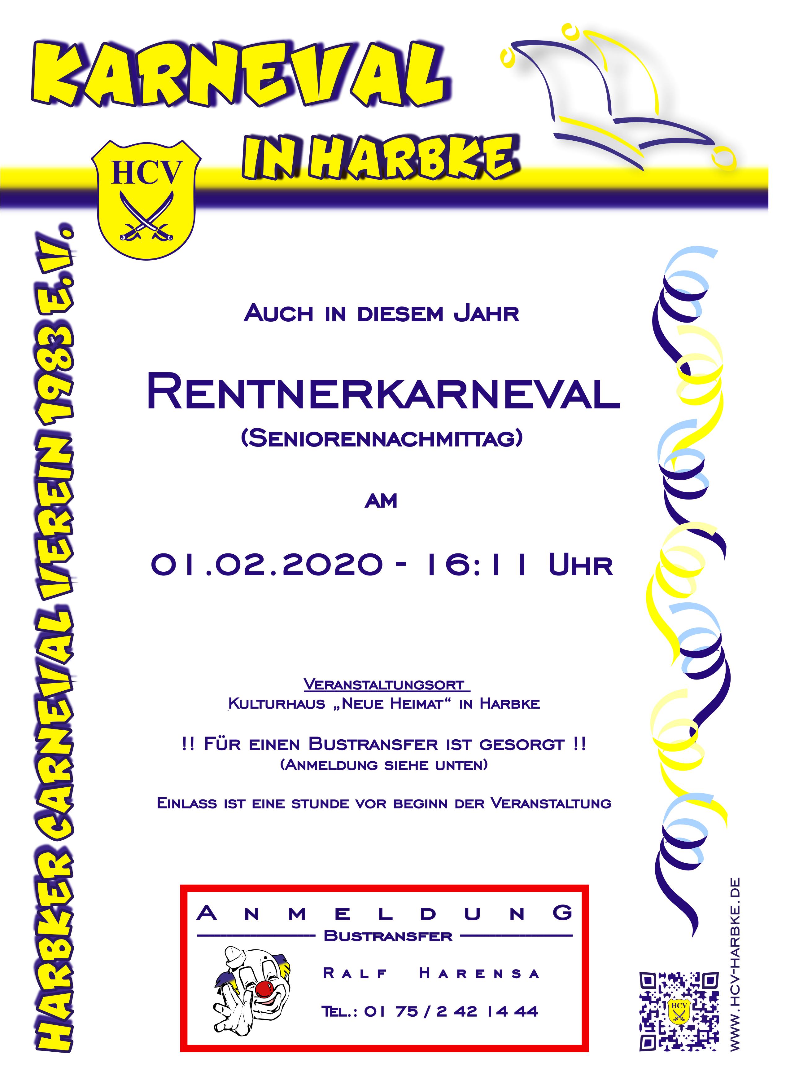 Rentnerkarneval 2020